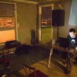 Ebauche playing a live set
