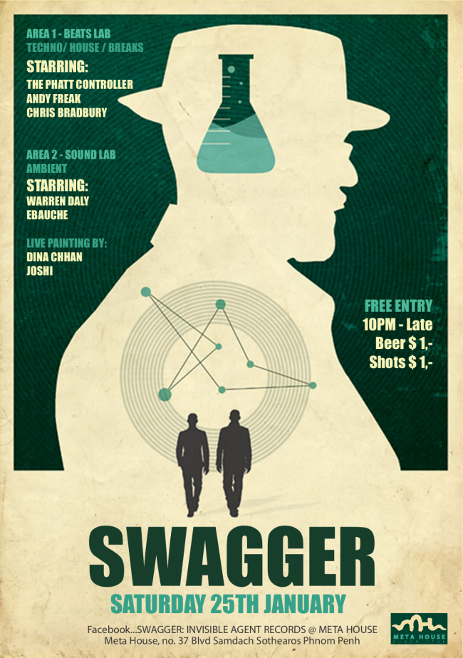 Swagger at Meta house: The best underground music and art in Phnom