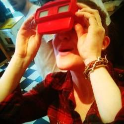 Enjoying the ViewMaster - Ryan Van Winkle & Dan Gorman