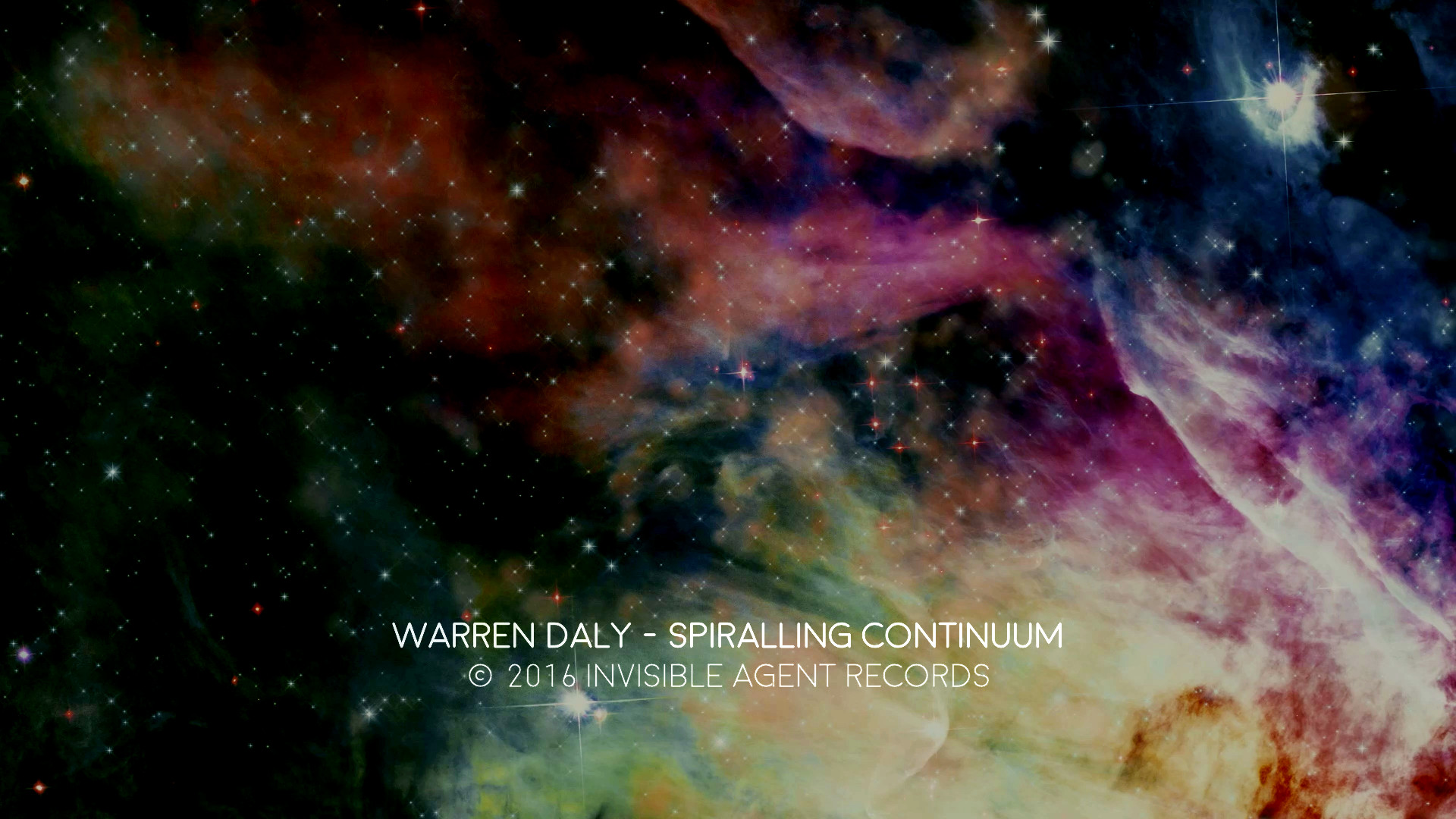 Ambient Space Video by Warren Daly - Spiralling Continuum Videos